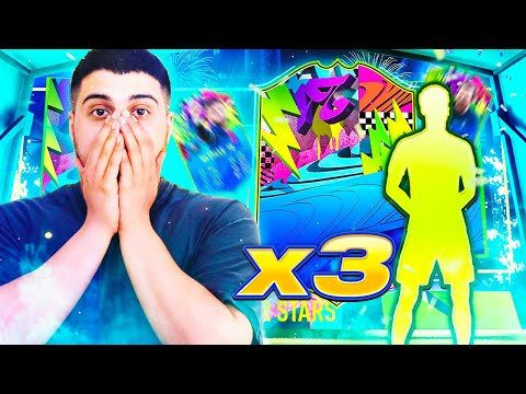 I PACKED 3 SUMMER STARS 2 PLAYERS IN HUGE PACK OPENING! #FIF