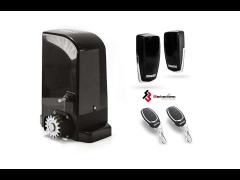 Como instalar motor corredera bravo 500 de motorline youtube - Como instalar una puerta corredera ...
