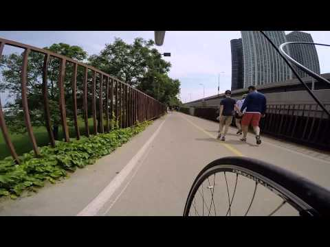 Lakefront Trail:  Irving Park to Soldier Field