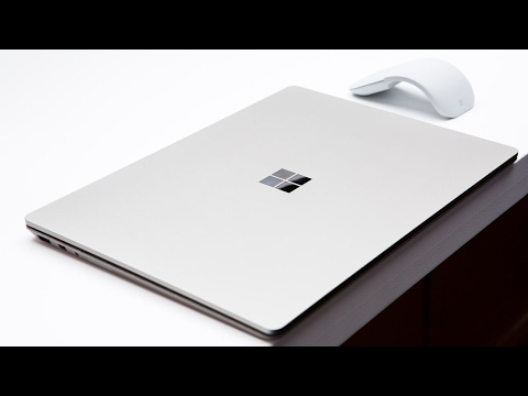 Microsoft Surface Laptop first look