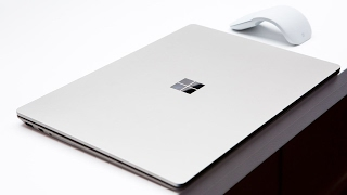 Microsoft's Surface Laptop was announced at the 2017 Microsoft Wind...