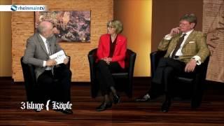 3 kluge Köpfe - mit Gabriele Holzner