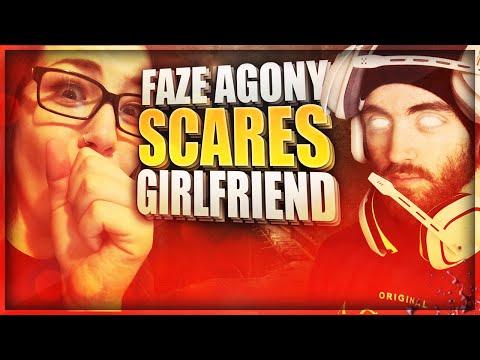 FAZE AGONY SCARES GIRLFRIEND!!