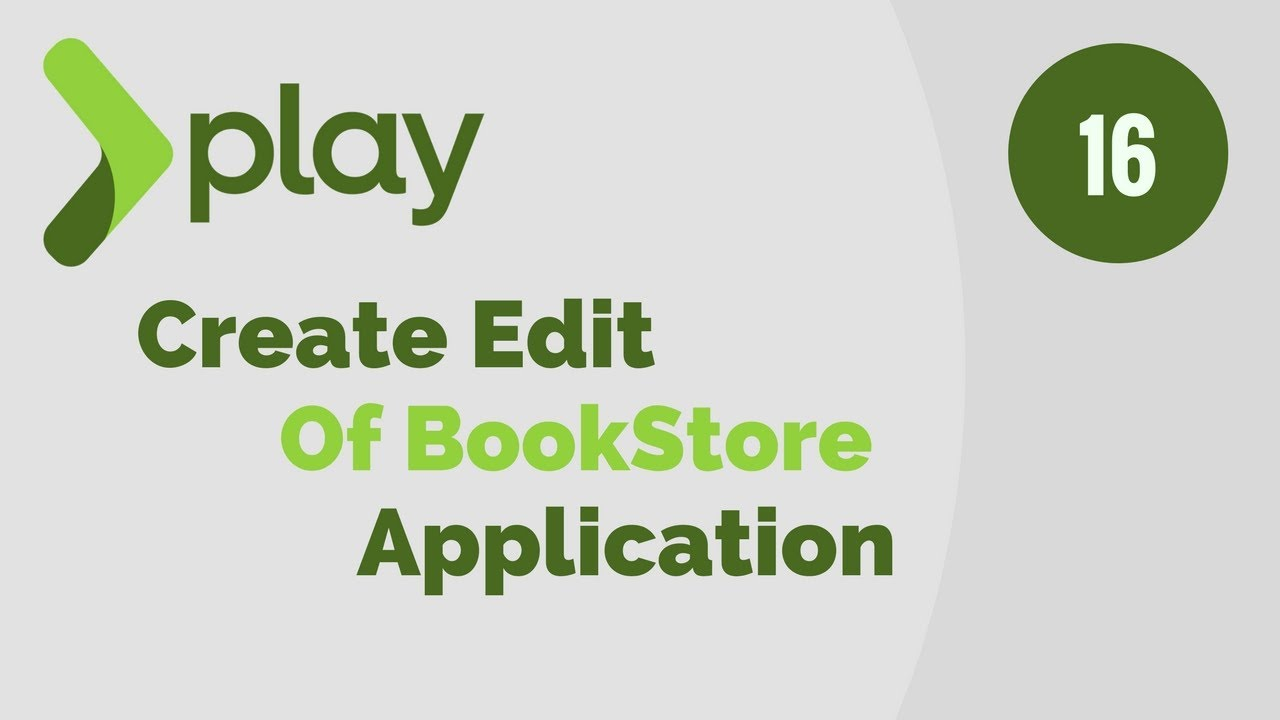 Play Framework Tutorial # 16 Implement Edit Method Of BookStore Application