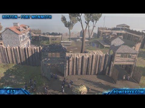 Assassin's Creed 3 - All Templar Fort Locations