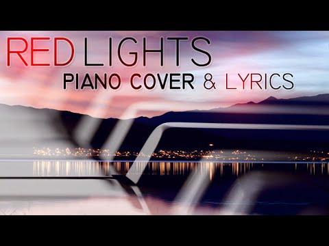 Tiesto - Red Lights (piano cover by Ducci, lyrics)
