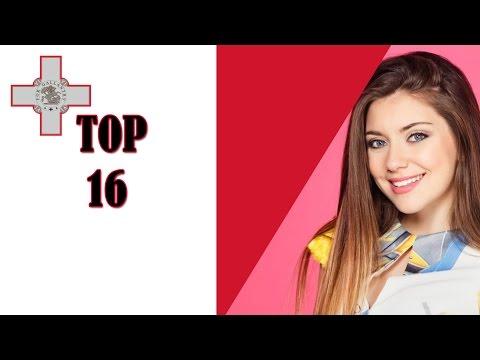 TOP 16 MESC | Eurovision Malta 2017