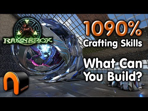 Ark: MASTER CRAFTER 1090% CRAFTING SKILL! (Max Crafting Points)