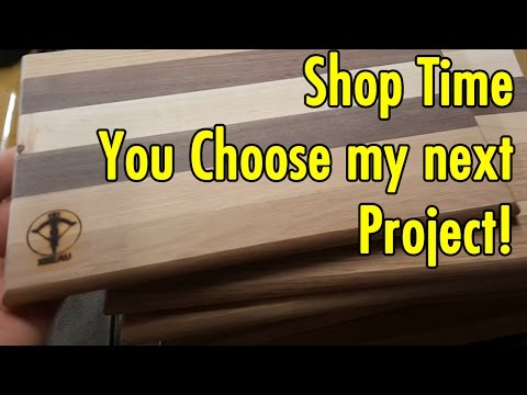 Shop Time - Which woodworking project is next? You choose! - xBeau Gaming