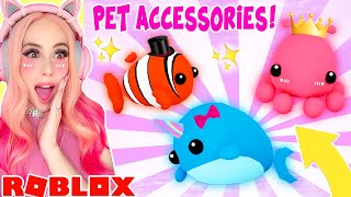 *NEW* PET ACCESSORIES ARE HERE IN ADOPT ME! *BRAND NEW* Pet Accessory Update In Adopt Me
