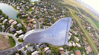 RC Shuttle Drop Glider - RCTESTFLIGHT -