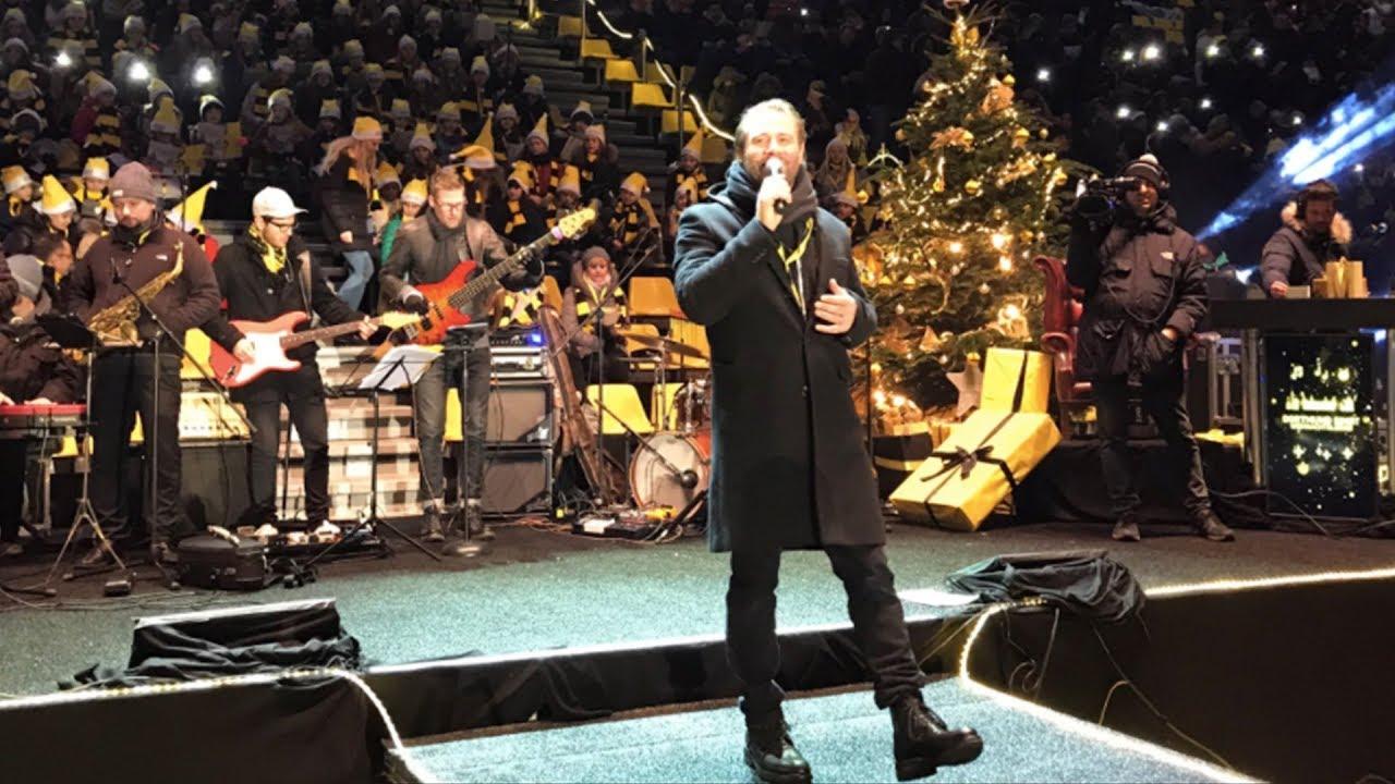 Sasha beim BVB-Weihnachtssingen 2017   Der komplette Auftritt mit Songtexten