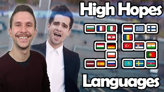 High Hopes in 35 Different Languages With Zero Singing Skills
