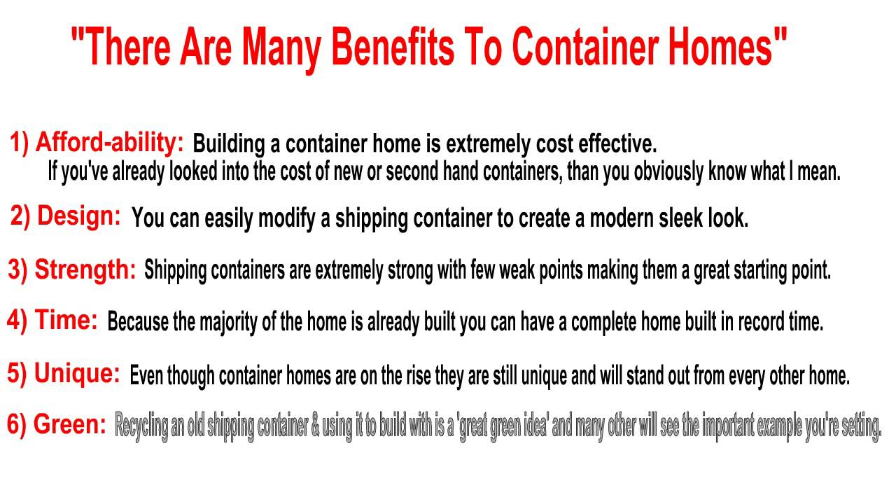 Plans & Instructions on How to Design & Build Your Own Container ...