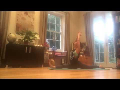 HATHA Flow Yoga home practice Amelia, Pure Yoga Bristol