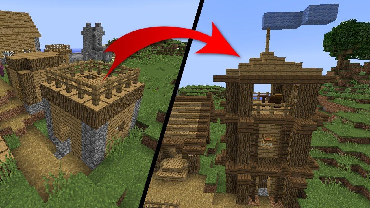 Что нужно сделать в майнкрафте чтобы жители строили деревню