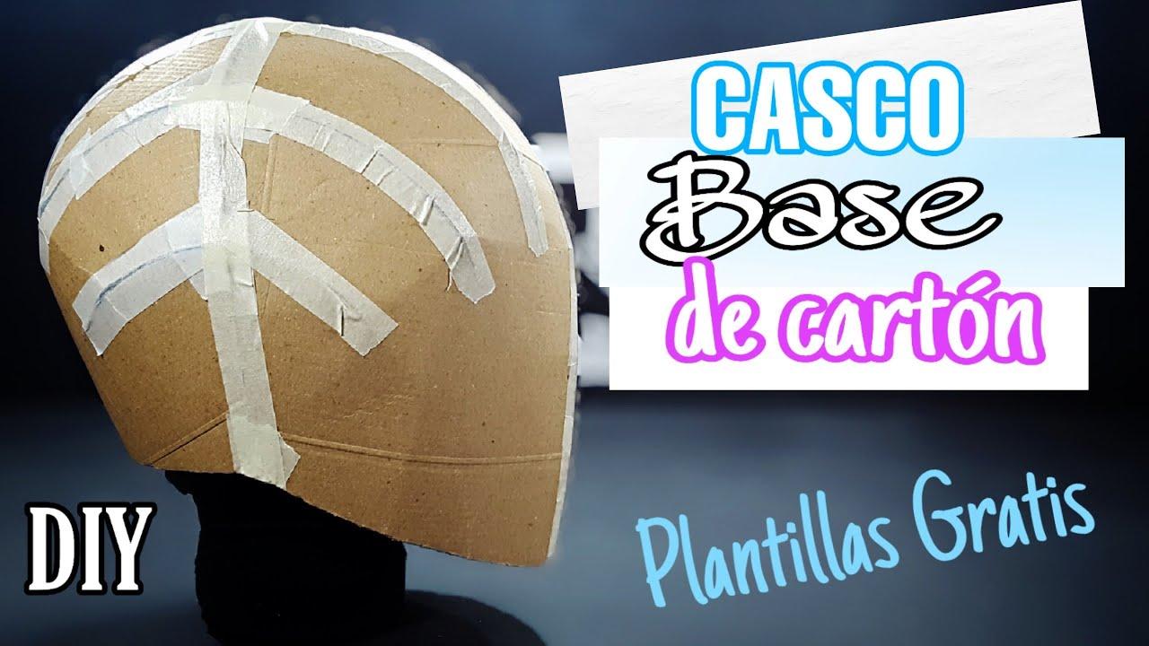 """Download DIY- Cómo Hacer un """"CASCO Base de CARTÓN""""   Plantillas GRATIS   Hacelo Vos!!"""
