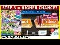 Higher Chance! My 1st Account's Step 3 Scout - Summer Night Festa Banner (SAO Memory Defrag)