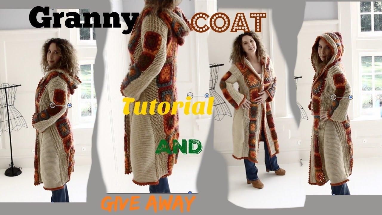 Boho Romantic Fall Crochet Granny Coat Youtube