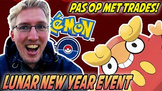 Pokemon GO Nederlands - Lunar New Year Shiny Hunt & pas op met trades! - Pokemon GO Vlog