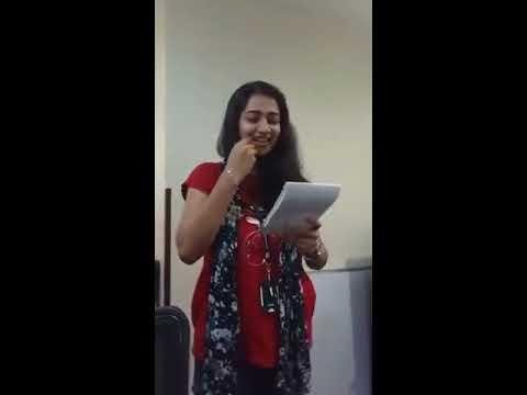 Emotional Office farewell speech