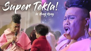 SUPER TEKLA in Hong Kong! - FUNNY!