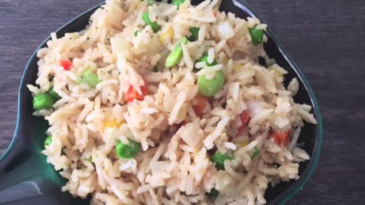 how to make easy chinese fried rice