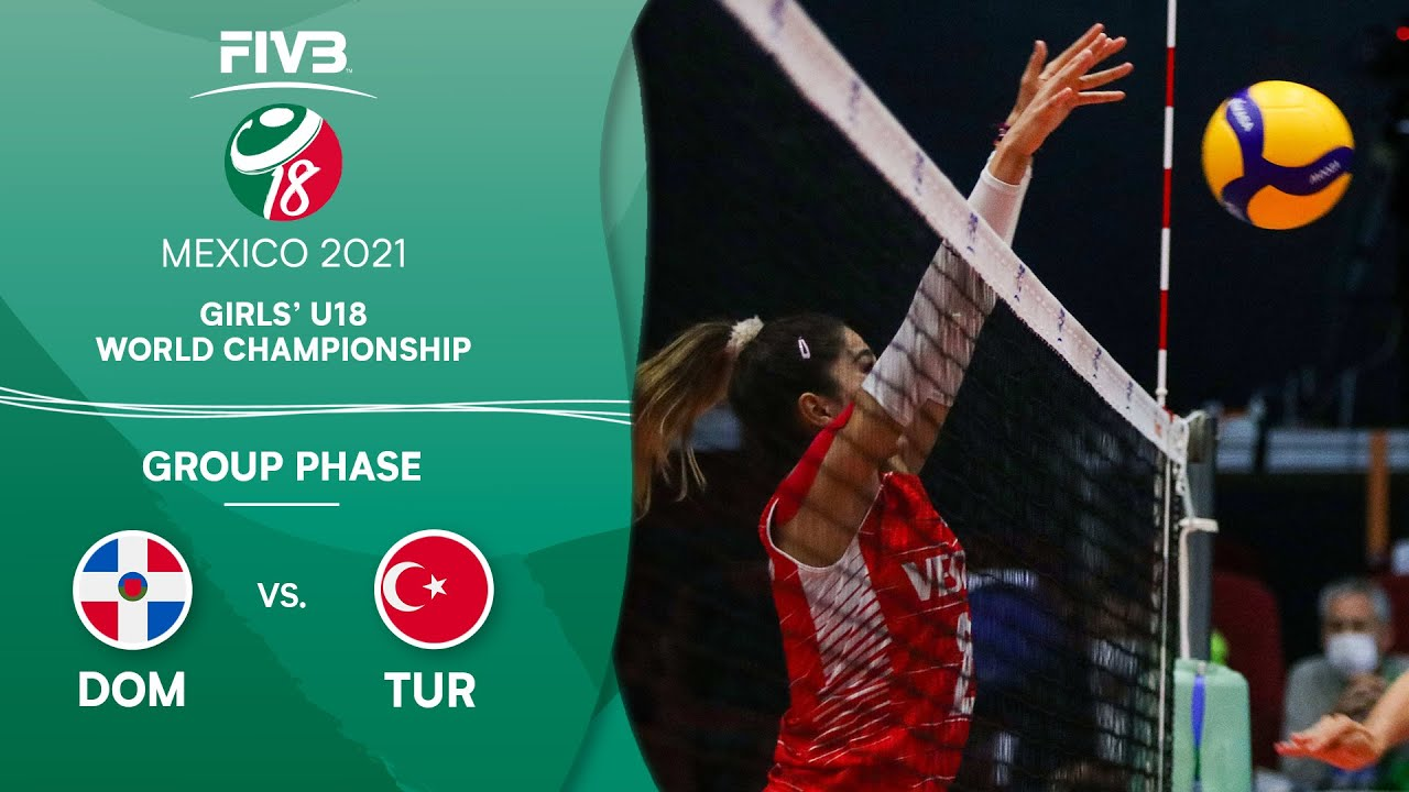 Download DOM vs. TUR - Group Phase | Girls U18 Volleyball World Champs 2021