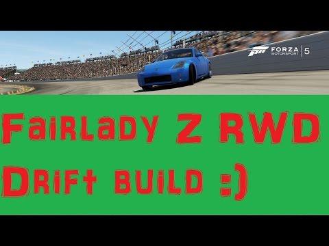 Nissan FairladyZ RWD Drift Build Forza 5
