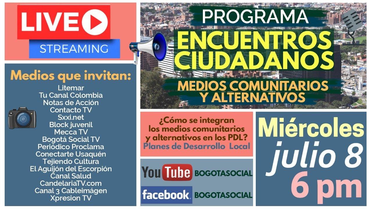 MEDIOS COMUNITARIOS Y ALTERNATIVOS EN LOS PLANES LOCALES DE DESARROLLO Y LOS ENCUENTROS CIUDADANOS