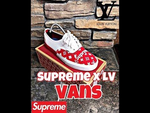 Supreme X LV Custom Vans Timelapse