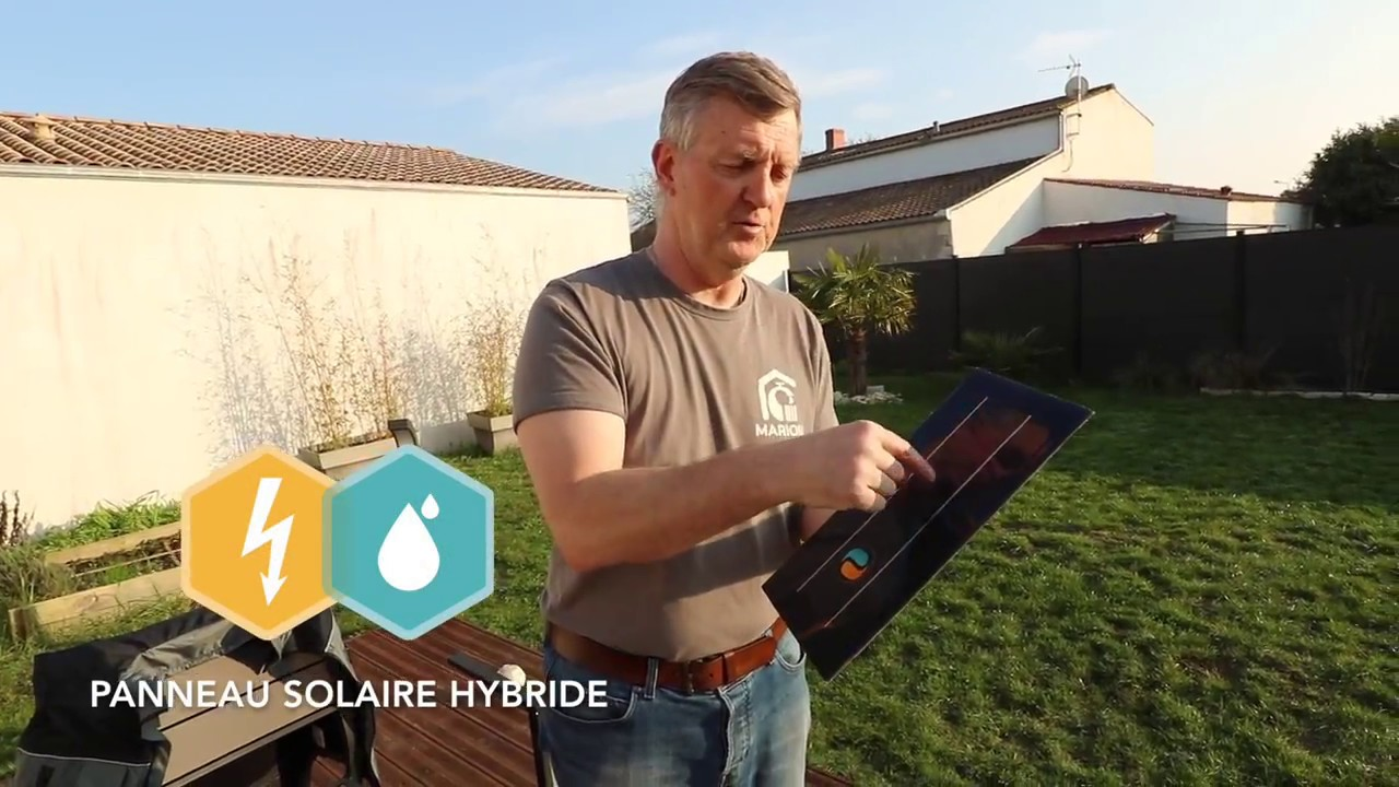 Installation du panneau solaire hybride DualSun | Marion artisan