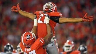 13 Georgia Highlights Vs Samford 2017  CFB Week 3  College Football Highlights 2017