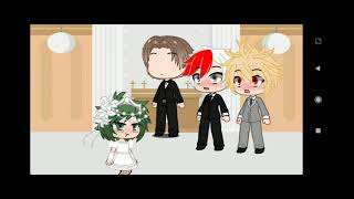 Wedding Of Todoroki Shōto Bakugō Katsuki And Midoriya Izuku[MHA]{TodoBakuDeku}(❄️|🔥,💥,🥦)