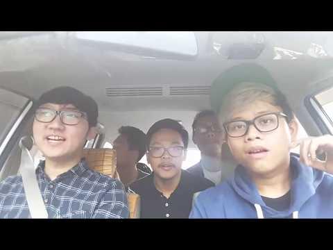 LIVE - Carpool Karaoke Ft. Alphiandi, AlFayyadh & Kevin F