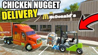 FARMING SIMULATOR 2017 | LATE NIGHT CHICKEN NUGGET DELIVERY TO MCDONALDS & NEW SHOP(, 2018-03-06T23:00:01.000Z)