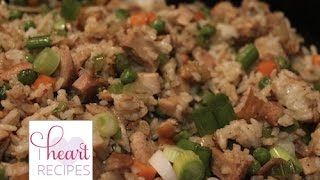 How To Make Chicken Fried Rice | I Heart Recipes