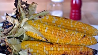 Grilled Corn On The Cob Recipe - How To Make Grilled Corn - Sys