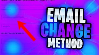 How To Change The Email Of An Unverified Fortnite Account Working 2019