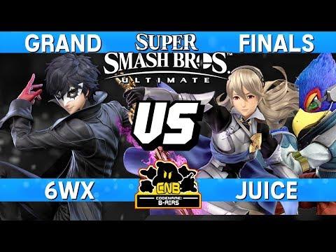 Smash Ultimate Tournament Grand Finals - 6WX (Joker) vs Juice (Corrin / Falco) - CNB 185