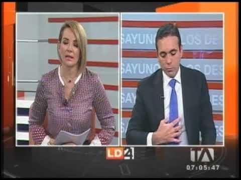 Entrevista Con Pablo Campana Ministro De Comercio Exterior 24 Horas Youtube