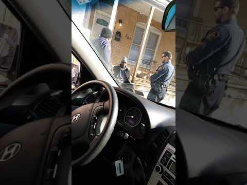 Allentown police abusing authority yet again illegal detain and illegal search and sez