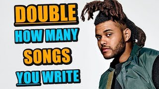 How To Write A Song Twice As Fast