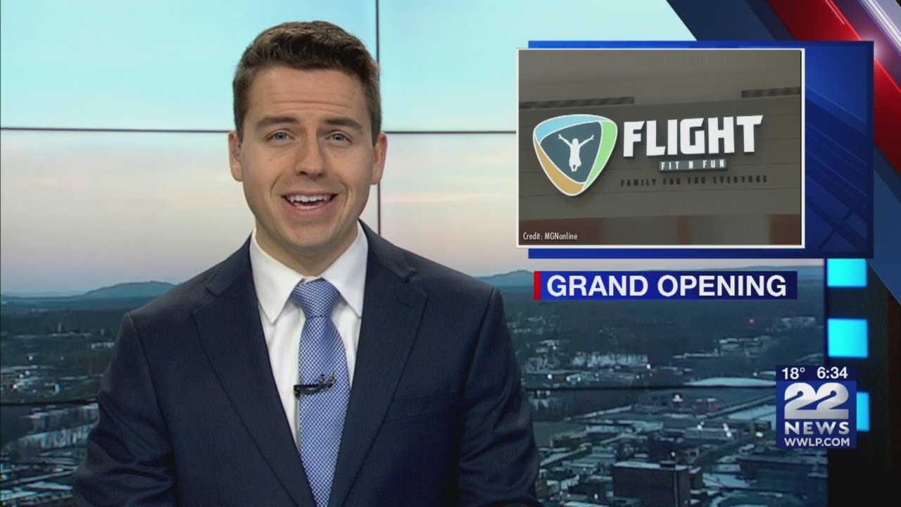 Holyoke Mall hosting Grand Opening of Flight Fit N' Fun