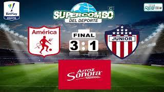 #ALAIRE América de Cali vs Junior de Barranquilla #VIVO Fecha 1