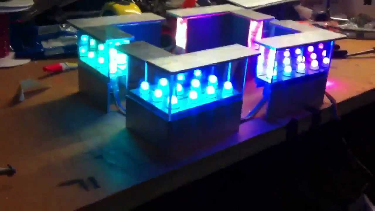 Infinity Mirror Running Lights Youtube
