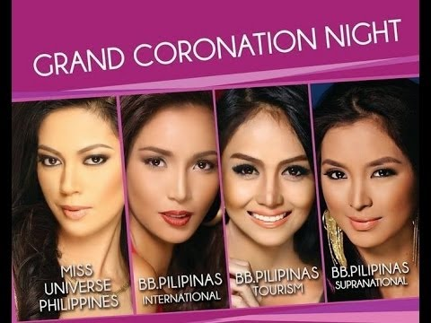 Bb. Pilipinas 2014 Grand Coronation Night