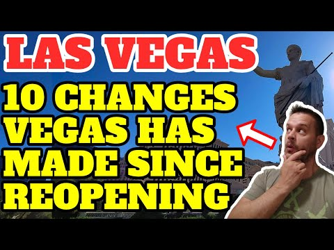 10 Changes Las Vegas Has Made Since Reopening