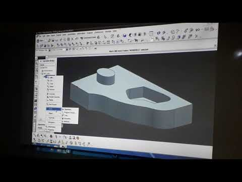Unigraphic Software Creating A Manufacturing Model
