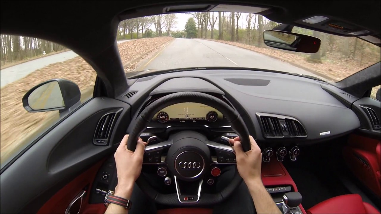 R8 V10 Plus Test Drive Pov Youtube